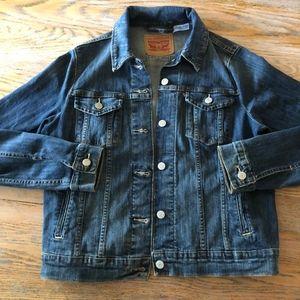 LEVI'S denim 99%cotton jacket/Nice cond